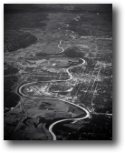 Omaha and Missouri River, Nebraska & Iowa, 2013