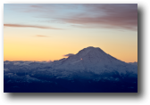 Mount Rainier, Early Morning<br />Washington, 2010